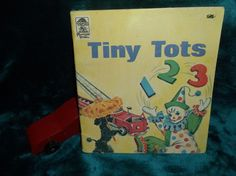 $4.96 or best offer Tiny Tots 123 Book 1972 Vintage Merrigold Press Counting Numbers Pictures