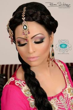 bridal hair and makeup by uzma x