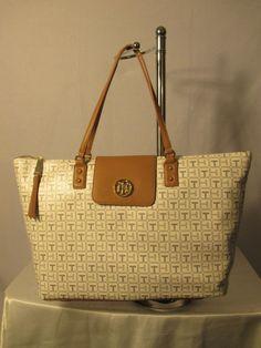 Tommy Hilfiger Handbag Tote Style 6933953 Retail $118.00 Seller Ship Worldwide…