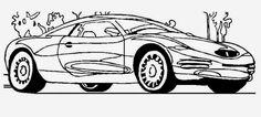 desenhos de carros para colorir e imprimir