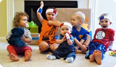 Fun Friday: Basketball Theme - Sporty Sweatbands and wristbands for the kids to wear