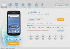 Moborobo - manage android phone from pc