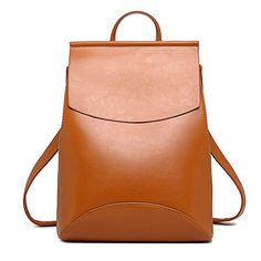 Fashionable Women Leather Backpack
