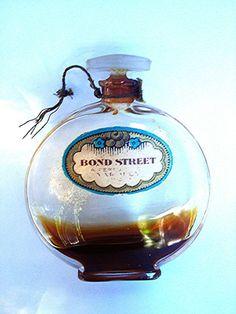 Vintage 'BOND STREET', YARDLEY Perfume Bottle, Adorable | eBay