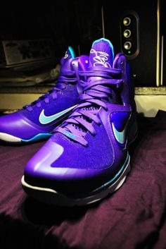 Nike Lebron 9 Summit Lake Hornets. Can't wait for these to drop