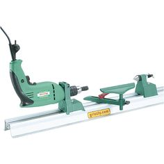 Amazon.com: Grizzly H2669 Hobby Lathe/Disc Sander: Home Improvement  Drill powered lathe