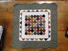 Lovely quilt made by my neighbor Jenny - featured on Heartspun Quilts!