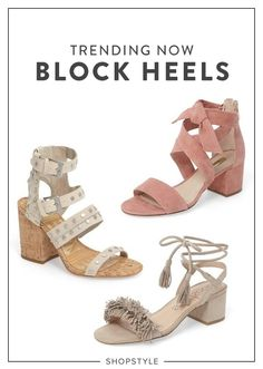 4dc9aa418f0 Our favorite heels for the season ahead.