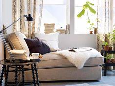 Ikea Window Seat Corner In Living Room Decoration