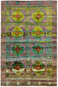 "Silk Ethos 6'7""x9'9"": Ethos oriental rugs runner rugs outdoor rugs bath rugs antiques rugs kitchen rugs bathroom rugs round rugs modern rugs carpets NYC - ABC Carpet & Home"