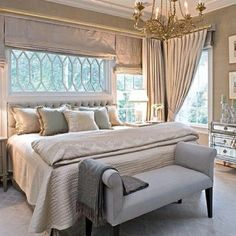Bright and airy luxury bedroom