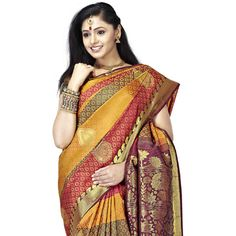 Buy Sudarshan Silks Multi Silk Saree by Sudarshan Silks, on Paytm, Price: Rs.10044?utm_medium=pintrest