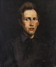 George Bellows - Portrait of a Young Man