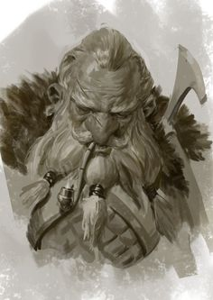 Dwarf 3, Even Amundsen on ArtStation at http://www.artstation.com/artwork/dwarf-3