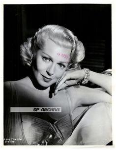 1955 RARE Original Photo Lovely LANA TURNER in STUNNING PUBLICITY POSE