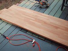 How to install IKEA butcher block countertops
