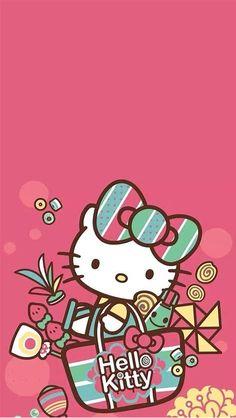 58 Ideas Wall Paper Phone Anime Kawaii Hello Kitty For 2019 Hello Kitty Pictures, Kitty Images, Hello Kitty Backgrounds, Hello Kitty Wallpaper, Sanrio Hello Kitty, Little Twin Stars, Sanrio Wallpaper, Iphone Wallpaper, Decoracion Hello Kitty