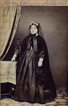 Eliza Schyler Kuypers, Mrs. Ethan Allen, Unmarked Albumen … | Flickr - Photo Sharing!