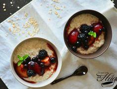 Gachas de avena o Porridge
