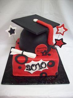 Graduation Cake Idea for son