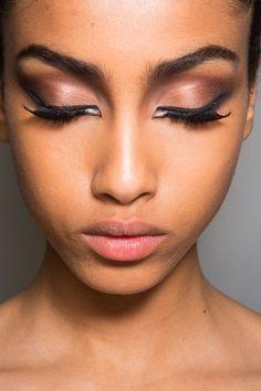 Jean Paul Gaultier Couture Fall 2013  Beautiful makeup!