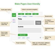 #SEO tip № 21: make your pages user-friendly.  #UX