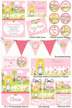 Goldilocks Party Printable