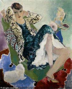 Micao Kono, Portrait of Kiki de Montparnasse, 1925
