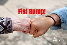 #FistBump similar in meaning 2 a handshake or high5, giving respect or approval. She is happy she got a #gooddoctorreport! Did you?