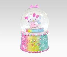 Hello Kitty Musical Snow Globe: Fairy