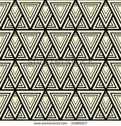 one pattern in constructivism style by Sergey Titov, via ShutterStock