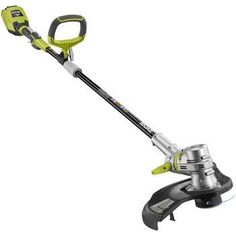 Product review for Ryobi RY40210 Electric 40V Cordless String Trimmer Edger. Ryobi takes Cordless to the next level with the 40-Volt Lithium-Ion String Trimmer. This string trimmer is designed to deliver cordless convenience without sacrificing power. With a 40-Volt battery pack, this string trimmer delivers longer runtime, and fade-free power. And for you gas-lovers out...