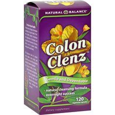 Natural Balance Colon Clenz - 120 Vegetarian Capsules