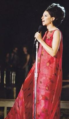 """Barbra Streisand in """"A Happening at the Central Park"""""""