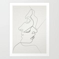 Close Art Print by Quibe | Society6