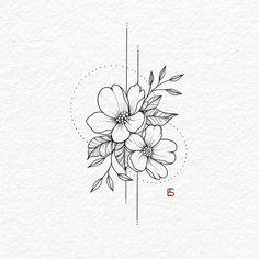 tattoos on black women - tattoos for women . tattoos for women small . tattoos for moms with kids . tattoos for guys . tattoos for women meaningful . tattoos with meaning . tattoos for daughters . tattoos on black women Diy Tattoo, Henna Tattoo Designs, Flower Tattoo Designs, Bild Tattoos, Body Art Tattoos, Tattoo Drawings, Tattoos To Draw, Art Drawings, Flower Drawings
