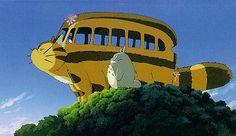 The cat bus and totoro Crazy Cat Lady, Crazy Cats, Bus Drawing, Cats Bus, My Neighbor Totoro, Old Soul, Hayao Miyazaki, Studio Ghibli, Neko