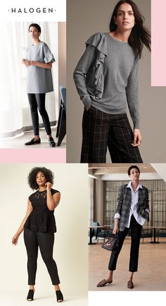Modern, feminine details meet clean styling with Halogen, sold exclusively at Nordstrom. This collection is full of work-to-weekend apparel that will keep you feeling confident every time you walk out the door.
