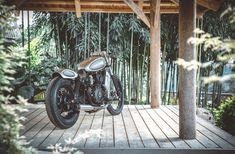 Amazing Creation of a Samurai Motorcycle. A Silverbullet Cafe Racer Designed by SHENFU (Thanh Ho Ngo, Graz). Most beautiful Kawasaki LTD 450 by Austrian Custom Garage Titan Motorcycle Company. Gorgeous Tarantino Bike. True Samurai Bike. Stingray Handlebar. Bike for Cancer Kids. Charity. Japanese Heritage . . . . #titanmotorcycles #custom #motorcycle #handcrafted #austria #caferacer #vintage #bikes #lifestyle #motorrad #markyourterritory #classic #vintage » #kawasaki #ltd450 #450… Custom Garages, Custom Bikes, Kids Charity, Motorcycle Workshop, Motorcycle Companies, Vintage Bikes, Graz, Antique Bicycles
