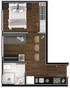 home decor inspiration Sims House Plans, House Layout Plans, Small House Plans, House Layouts, House Floor Plans, Studio Apartment Floor Plans, Studio Apartment Layout, Small Apartment Design, Apartment Plans