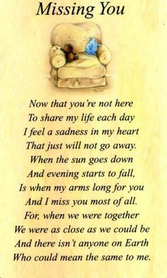 Missing You! I love you so much Shawn! I just  cannot believe you are gone!!