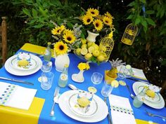 Superb website full of themes for table decor for any type of party or gathering