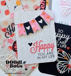 Doodlebugs: Project Life / Pocket Scrapbooking with Technique Tuesday
