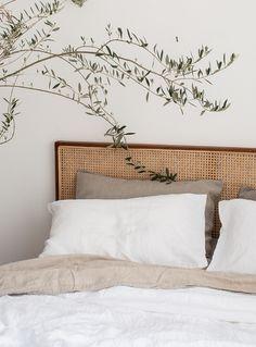 Ästhetisches Design, Deco Design, Interior Design, Interior Colors, Interior Plants, Design Apartment, Natural Home Decor, Natural Bedroom, Natural Bedding