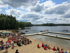 Swim Carnival at the Three Point Waterfront and Camp #Yawgoog!  A 2015 image by David R. Brierley.