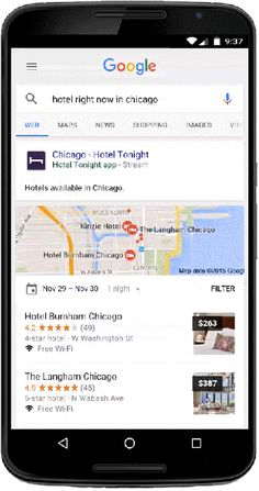 Google today is making a big change in terms of its ability to surface the content found in mobile applications through Google search: it's no longer..