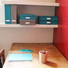 bureau classeurs lampe botes rangement ranger papier
