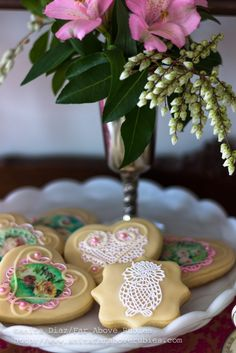 Far Above Rubies: Coffee and beautiful cookies for the first day of Spring