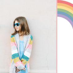 "Babiators/Canada on Instagram: ""Somewhere over the rainbow...🎵🎵🎵 . . #babiatorseyewear #babiatorscanada #kidsfashion #rainbow #kidsstyles #kidstagram #kidsofinstagram…"" Over The Rainbow, Eyewear, Canada, Blazer, Kids, Jackets, Instagram, Women, Fashion"