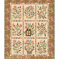 Laundry Basket Quilt of the Day - Home Sweet Home with Jellybean fabrics